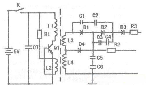 高压包电路图