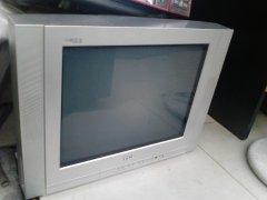 八成新21寸TCL彩色纯平电视机