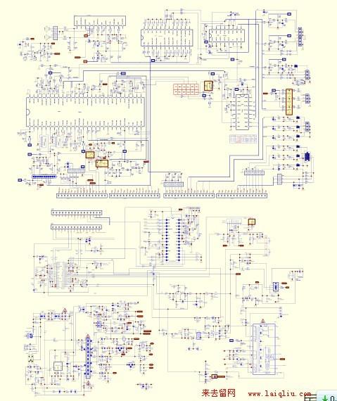 创维stre1555电路图