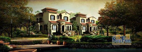 花园洋房140--150平米,联排别墅180平米,双拼别墅200平米,独栋别墅250