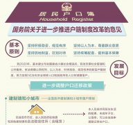 看 国务院关于进一步推进户籍制度改革意见(图)
