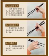 来看拿筷子方法预示性格